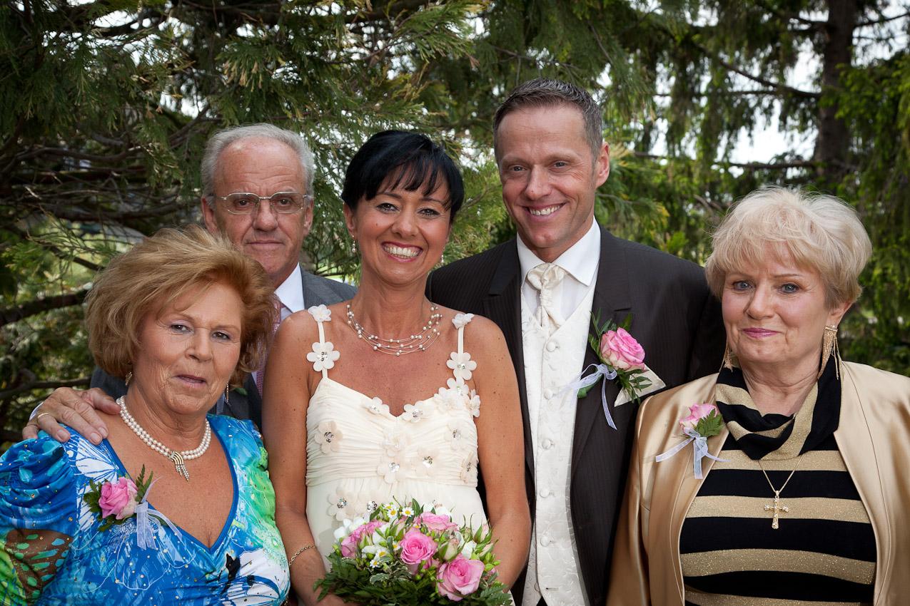 mit den Eltern