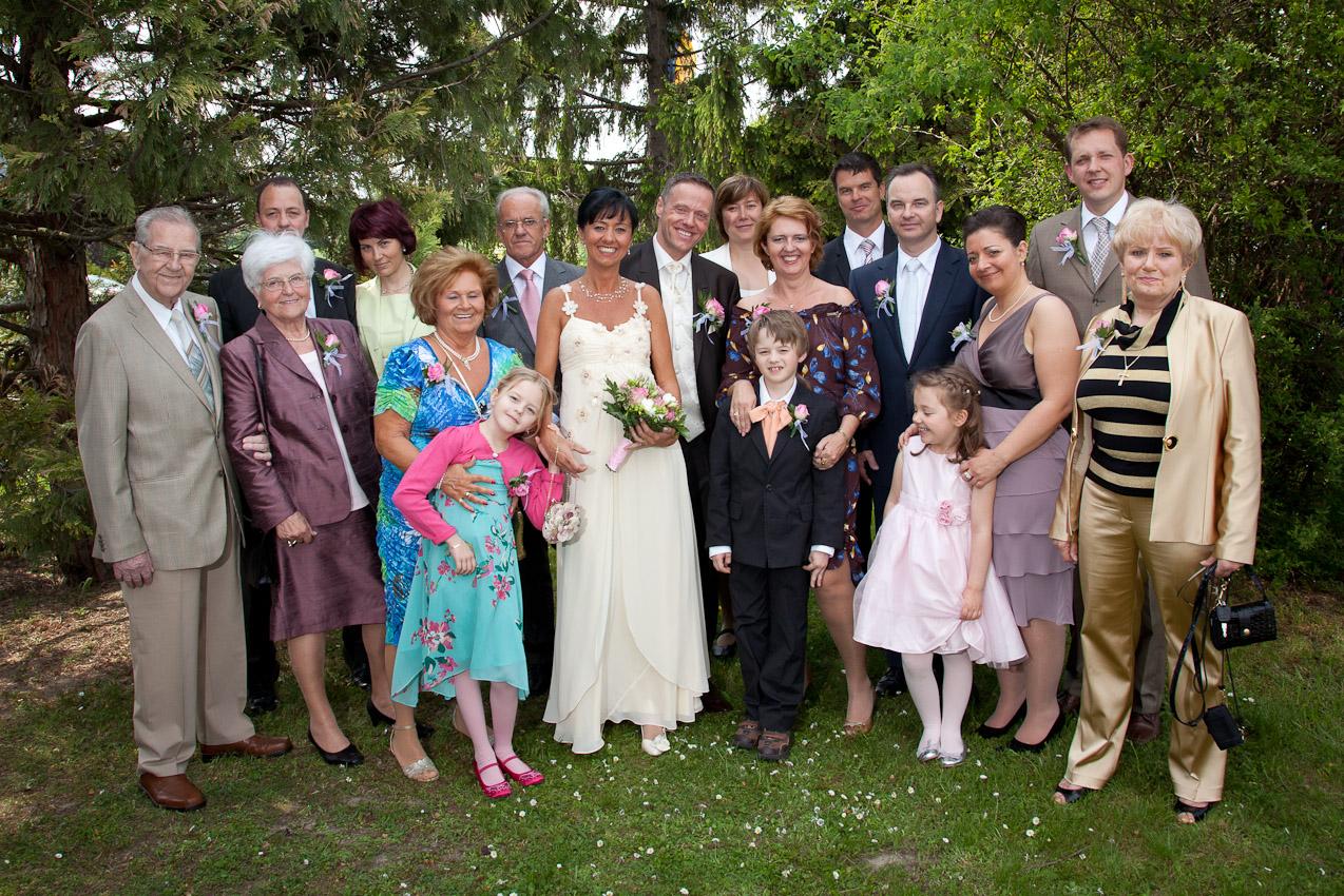 mit Familie