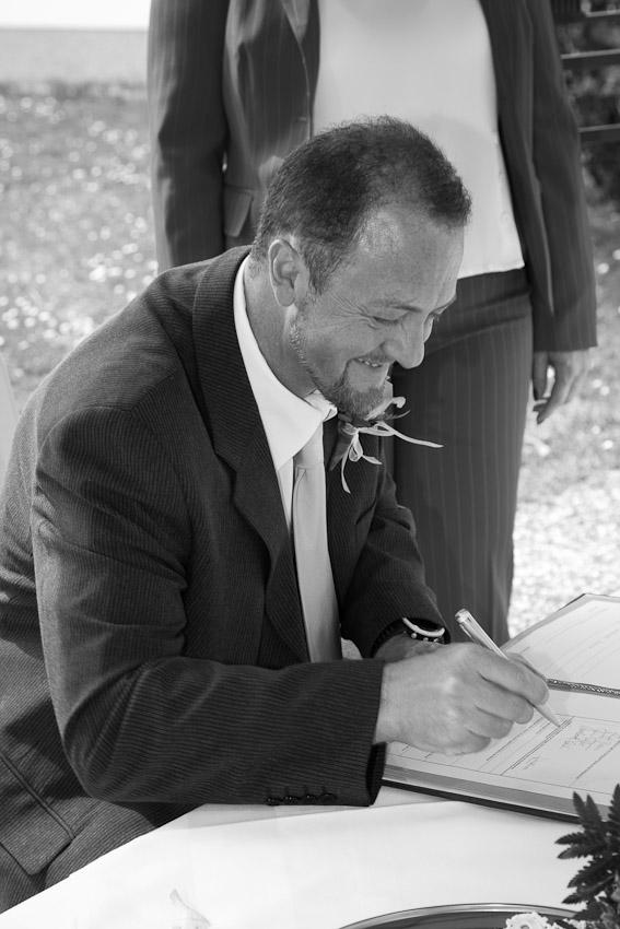 Die Unterschriften